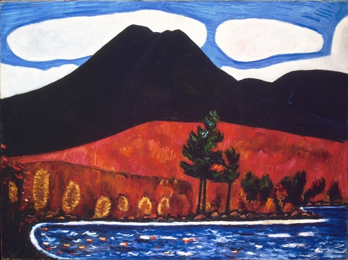 Marsden Hartley, Mount Katahdin 2
